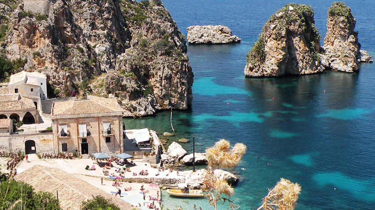La Tonnara di Scopello in Sicilia